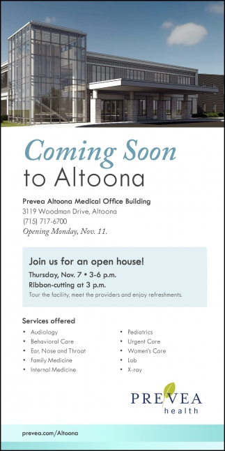 Coming Soon to Altoona