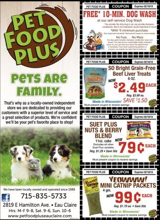 Pet Food Plus Pet Food Plus
