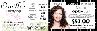 Orvilles Hairstyling