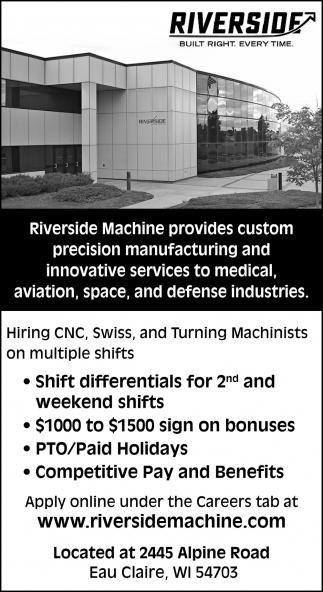 Custom Precision Manufacturing