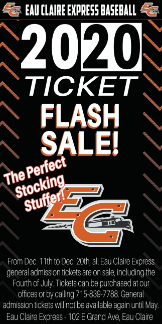 2020 Ticket Flash Sale
