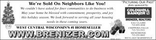 We're Sold On Neighbors Like You!
