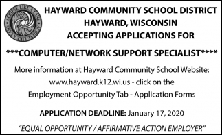 Computer/Network Support Specialist