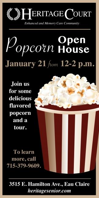 Popcorn Open House