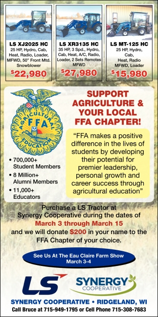 Support Agriculture