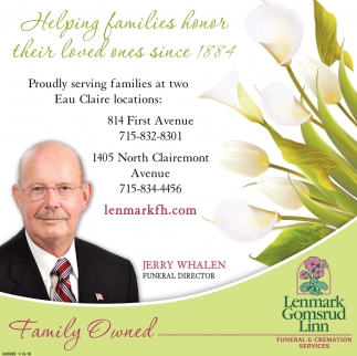 Helping Families honor their loved ones since 1884