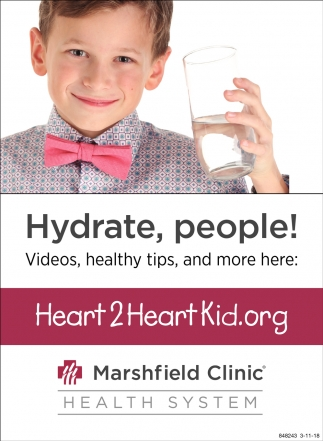 Hydrate, People!