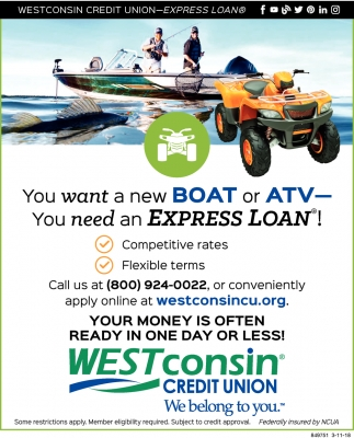 You need an Express Loan