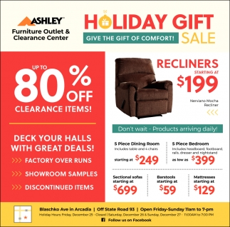 Holiday Gift Sale Ashley Furniture Eau Claire Wi