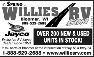 It's Spring at Willies RV