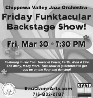 Friday Funktacular Backstage Show