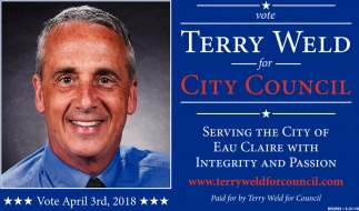Terry Weld for City Council