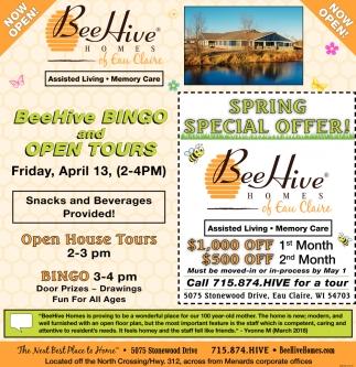 Spring Special Offer!