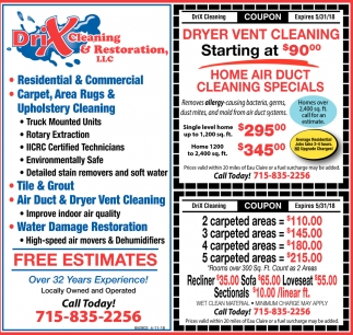 Home Air Duct Cleaning Specials