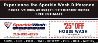 Experience the Sparkle Wash Difference