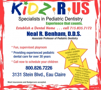 Specialist in Pediatric Dentistry