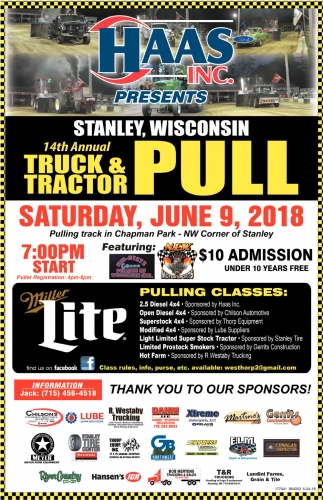 14th Annual Truck & Tractor Pull