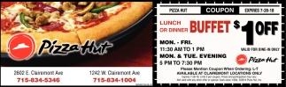 lunch or dinner buffet pizza hut rh local leadertelegram com